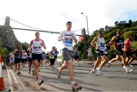 2011 Bristol Half Marathon.  10/09/2011  Photographer: Adam Riley    Copyright: Northcliffe Media Ltd